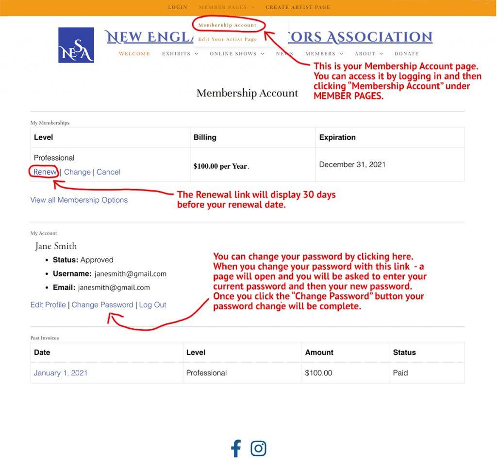 Membership Account