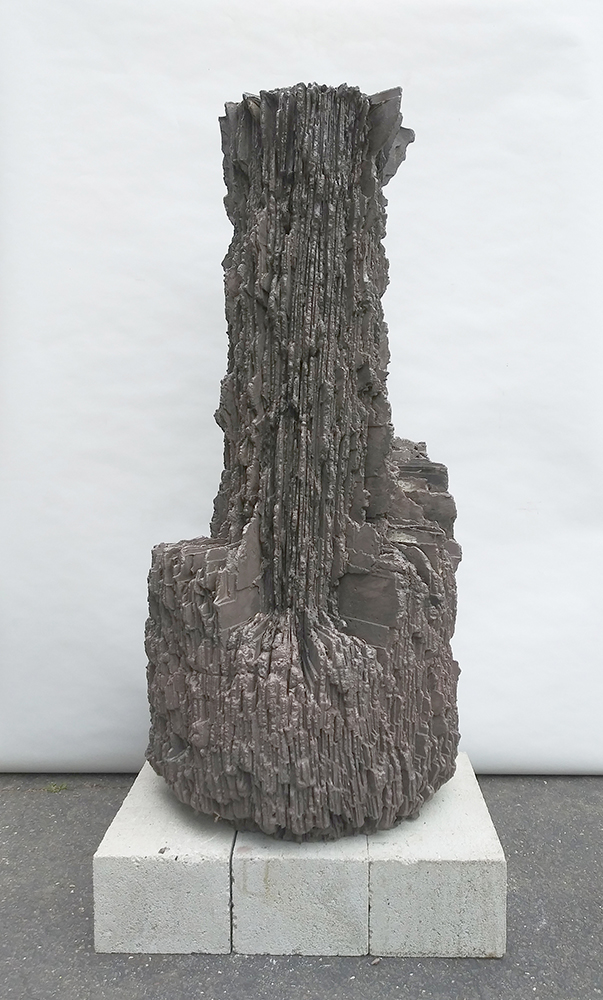 """Matthew Weber, 2019_Twist (30), 45x23x32"""", pigmented and stained cement. web scale-53af3419"""